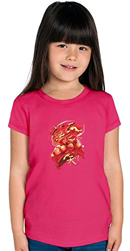 Gouki Red Girls T-shirt, Vêtements