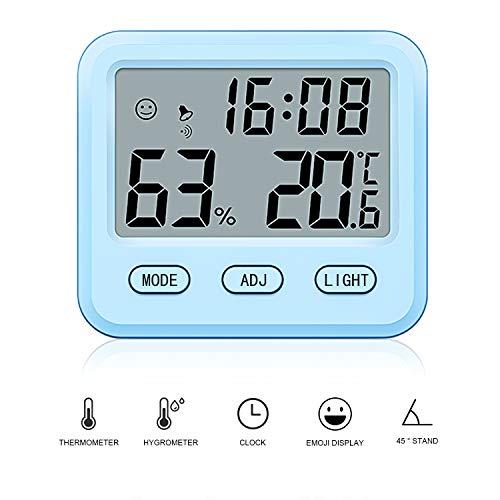 QUTAII Termómetro Higrómetro Digital,Termómetro Higrometro Digital Interior,Monitor de Temperatura...