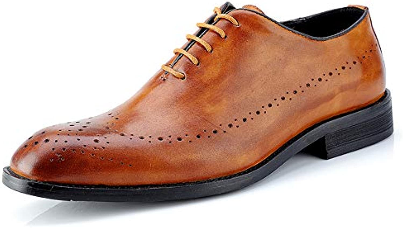 SRY-scarpe, Scarpe Stringate Uomo, Marronee (Marronee), (Marronee), (Marronee), 39.5 EU | Qualità Stabile  b7e6d3