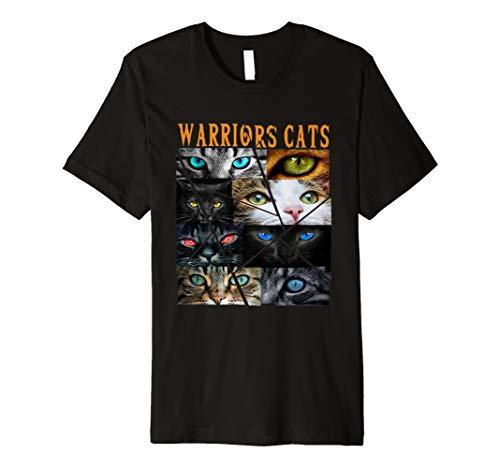Krieger-Katzen, Augen-Katzen, Warriors Cats, Eye Cats Tee