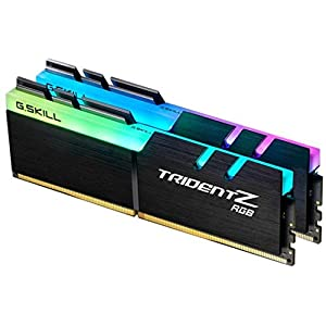 GSKILL-F4-3200C16D-16GTZR-Trident-Z-RGB-Series-16-GB-8-GB-x-2-DDR4-3200-MHz-PC4-25600-CL16-Dual-Channel-Memory-Kit-Black-with-full-length-RGB-LED-light-bar