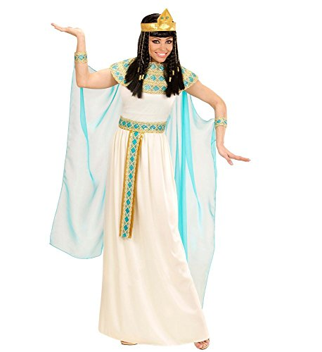 shoperama Hochwertiges Kleopatra Damen-Kostüm Cleopatra Ägypterin Pharaonin Königin Herrscherin, Größe:L