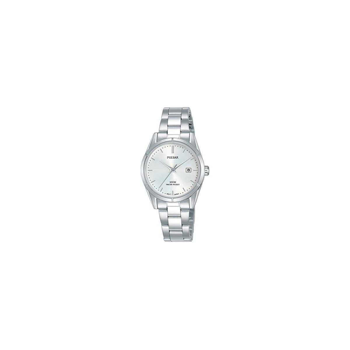 41cpVJMl10L. SS1200  - Seiko Reloj Analógico para Mujer de Cuarzo con Correa en Acero Inoxidable PH7471X1