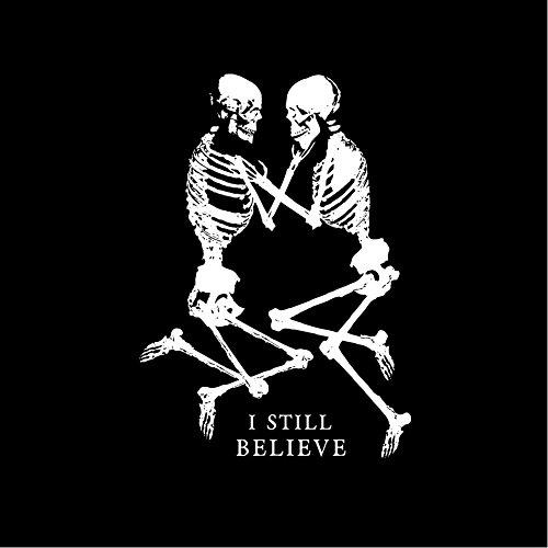 Skull Shirt Damen Totenkopf Motiv ETERNAL LOVE schwarz Größe S M L Schwarz