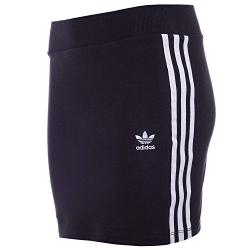 adidas Damen 3STRIPES Skirt Kleid, Schwarz, 34 (Damen Adidas Rock)
