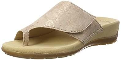 Gabor Shoes Fashion, Mules Femme, Beige (Honey 63), 37 EU