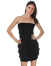 Nife Women's Dress Black Black