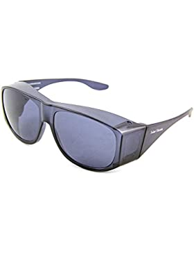 Solar Shield Fits-Over Sunglasses - SS Polycarbonate II Smoke / SOLAR SHIELD II SMOKE POLYCARBONATE LENSES by...