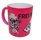 Frei.Wild - FDUVD, Tasse, Farbe: Neonpink