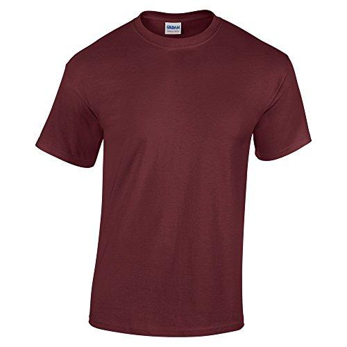 Gildan Heavy Cotton TM Adult T-Shirt S,Maroon (Mens T-shirts Fashion)