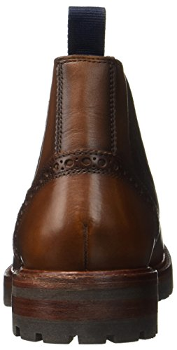 Sioux Endru, Bottes Chelsea Homme Marron (Cognac)