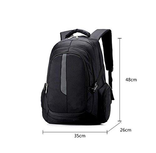 Männer Und Frauen Wilde Computer Tasche Schultertasche Große Volumen Tasche Im Freien Tasche Reisebeutel Student Tasche Blue