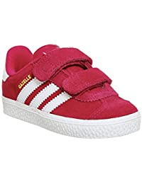 Adidas Originals Gazelle 2 Infant Bold Pink Suede Trainers