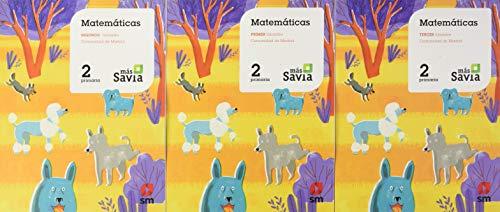 Matemáticas. 2 Primaria. Más Savia. Madrid
