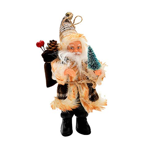 AMUSTER Weihnachtsmann Weihnachtsdeko Weihnachtsfigur Weihnachtsbaum Dekor Weihnachtsmann Ornamente...