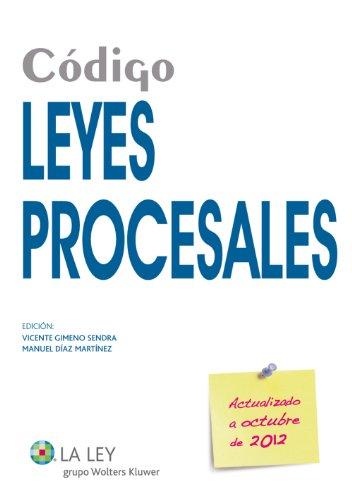 Código Leyes Procesales 2012 (Códigos La Ley) por Vicente Gimeno Sendra