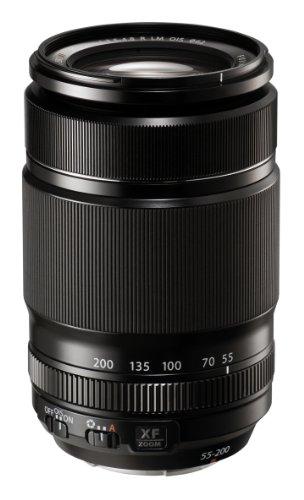 Fujifilm Fujinon - Objetivo para Fujifilm (distancia focal 55-200mm, apertura f/3.5-22, estabilizador macro, diámetro: 62mm) negro
