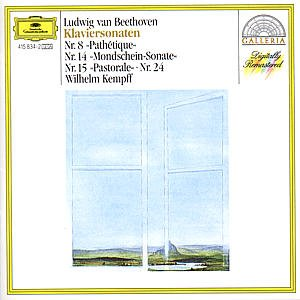 BEETHOVEN - Kempff - Sonates pour piano n°8, 14, 15, 24