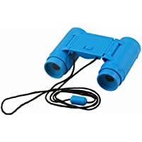SODIAL(R) Child Kids Plastic 26mm x 2.5X Foldable Binoculars Telescope Toy Blue