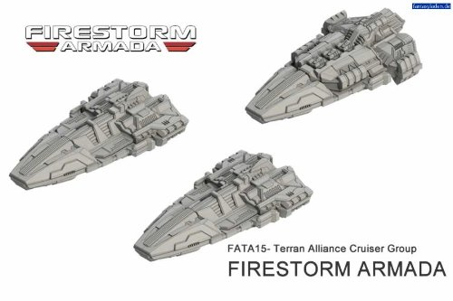 Spartan Games Firestorm Armada: Terran Cruiser Group