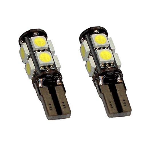 Preisvergleich Produktbild Jurmann Trade GmbH® 9er Xenon LED Standlicht, Glassockel w5w T10, CanBus, Xenon Weiss 24v für LKW