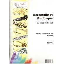 Partitions classique ROBERT MARTIN FAILLENOT M. - BARCAROLLE ET BURLESQUE Tuba