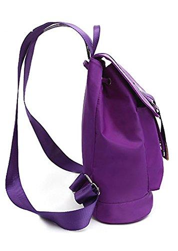 Nylon neuer Stil Damen accessories hohe Qualität Einfache Tasche Schultertasche Freizeitrucksack Tasche Rucksäcke Wasser-Blau Keshi xxK59Cth