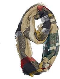 64ca1bf19f24 Ruanyi Écharpe d hiver de Couverture de Plaid, écharpe Classique de châle  de Tartan
