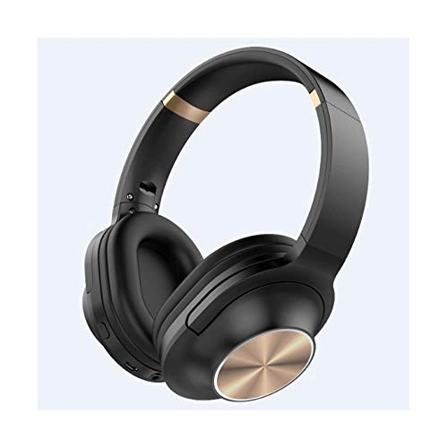 Bluetooth Hi-Fi Gaming Headset Kopfhörer   Mikrofon für PC/Telefon für PUBG für PS4 Switch Noise Cancelling Wireless, Gold A827 Bluetooth