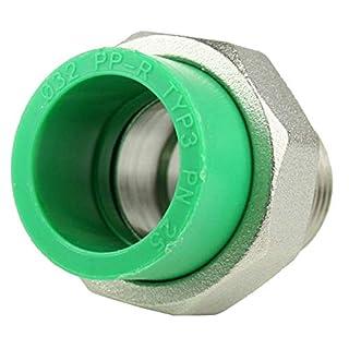 PPR Aqua-Plus Kupplungsverschraubung, 32mm x Außengewinde 1 Zoll
