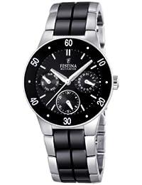 Festina Damen-Armbanduhr XS Trend Ceramic Multifunktion Chronograph Keramik F16530/2