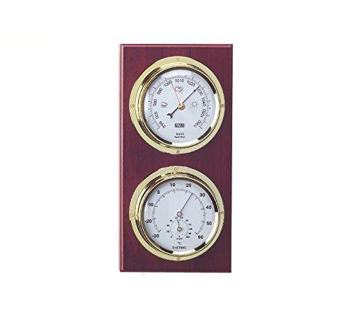 Estación meteorológica náutica, Barómetro, higrómetro, termómetro, estación meteorológica,26cm...