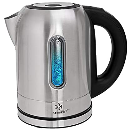 KESSER-2200W-Edelstahl-Wasserkocher-17L-mit-LED-Beleuchtung-Farbe-je-nach-Temperaturwahl-60-70-80-90-100-C-Kalk-Filter-2-Std-Warmhaltefunktion