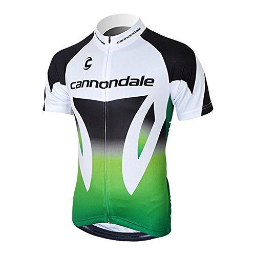 Strgao 2016 Herren Radtrikot Shirt Kurzarm Pro Team Cannondale MTB Radfahren Top Radshirt Atmungsaktiv Durchgehender Rei?verschluss (Cannondale Herren Fahrrad)