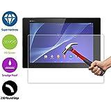 ZeWoo Le Film Protection En Verre Trempé - Pour Sony Xperia Tablet Z2 - Le Filtre Protecteur D'écran(9H *2.5D, 0,3mm)