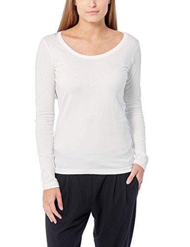Berydale Damen für Sport & Freizeit, Rundhalsausschnitt Langarmshirt, 3er Pack, Weiß (Weiß), Medium