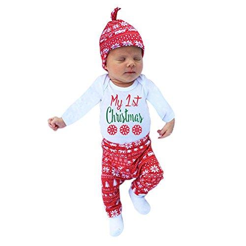 Für Kostüme Kinder Nightmare Christmas Before (Patgoal Baby Mädchen Weihnachten Kleidung Weihnachtskostüm)