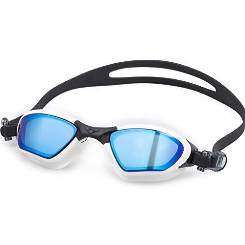 1949shop Schwimmbrillen, HD-Schutzbrillen Anti-Fog-wasserdichte Schwimmbrillen für Herren und Damen Großes Sichtfeld