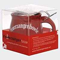 Feuerzangentasse - Geschenkbox (Terracotta / Rot)
