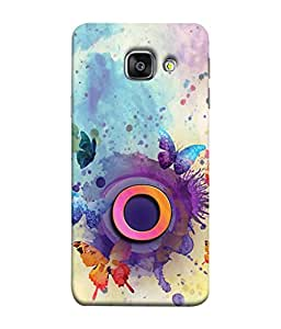 PrintVisa Designer Back Case Cover for Samsung Galaxy A9 2016 (Posh Status symbol)