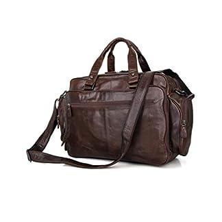 41cpq9sPfOL. SS324  - Bolso de cuero para hombres, bolso de negocios, 16 pulgadas, portátil, bolso de hombre, capacidad grande