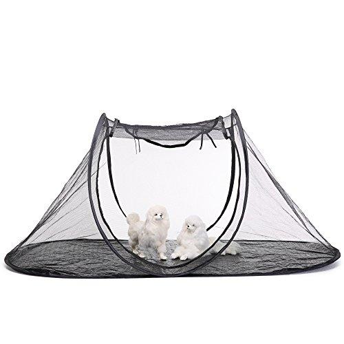 KINGDUO Haustier Zelt Katze Hund Laufstall Feline Fun House Portable Übungs Zelt mit Tragetasche