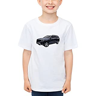 Billion Group   Swedish Power   Fast And Furious Motor Cars   Boys Classic Crew Neck T-Shirt White Large