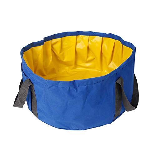 austier Bad Wanne Wasserfest Innenraum Waschen Klappbar Spielen Hunde & Katzen - Blau ()