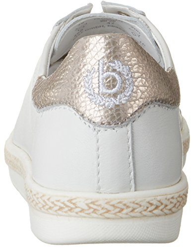 Weiß weiß Damen J97011g 200 Sneakers Bugatti 4HRtpqnqW