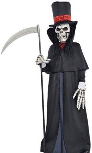 erdbeerloft - Jungen Der Tod Kostüm, Halloween, 152/164, Schwarz (Vampir Kostüm Für Jungs)