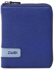 zwei Wallet RV-Geldbörse W1 10 cm, blue