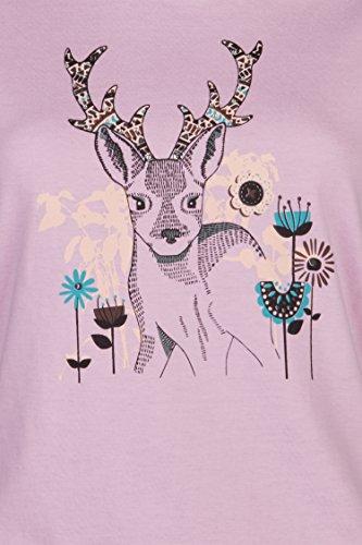Schlusen Trachtenmode Damen Trachtenshirt Jill, (Gr. XS-XXL) in 2 Versch. Farben Rose