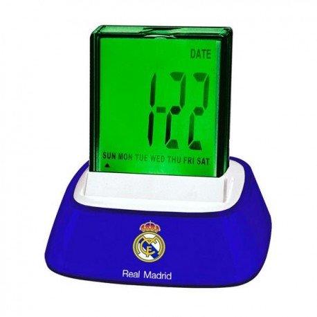 Seva Import Real Madrid Despertador, Negro, Única