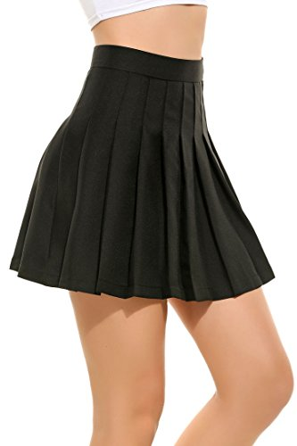 lomon-falda-para-mujer-negro-negro-xs